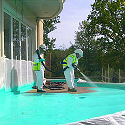 waterproofing outdoor surface